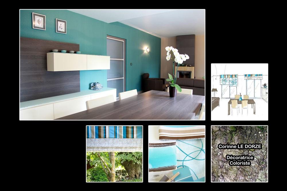 corinne le dorze d coration salon avant apr s vannes conleau. Black Bedroom Furniture Sets. Home Design Ideas