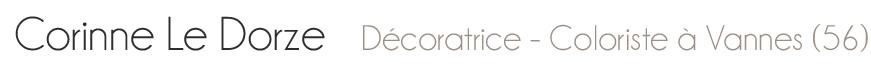 Corinne le dorze d corateur d 39 int rieur 56 formation de d coration int rieure pour - Formation pour etre decoratrice d interieur ...